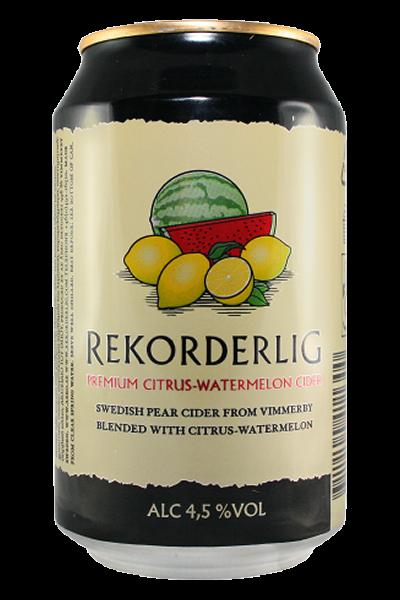 Rekorderlig Cider 4,5% Zitrone-Wassermelone 0,33l