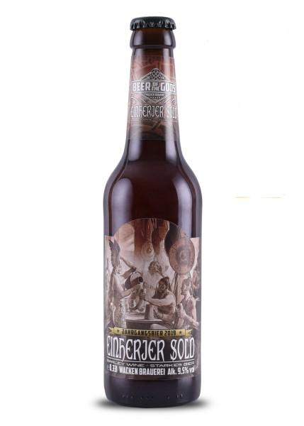 Einherjer Sold - Barley Wine - Jahrgangsbier - 0,33l Flasche