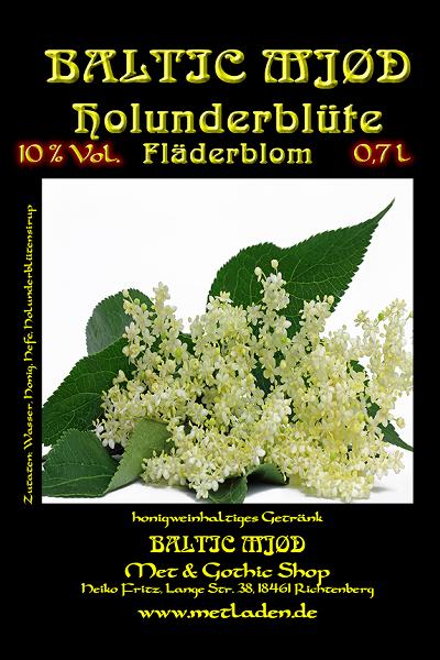 Met Holunderblüte - Baltic Mjød -10 % - 0,7 Liter