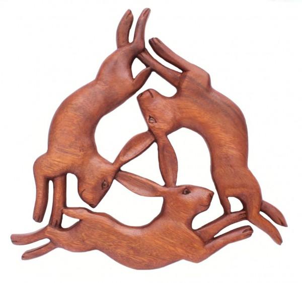Wandbild - Keltische Hasen - ws258