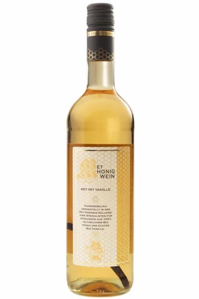 Vanillemet - Honigwein mit Vanilleschote, 11% vol. - 750 ml