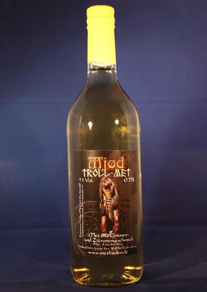 Mjød Trollmet - Met mit Limonen-Zitronen-Geschmack, 0,75l, 9 %