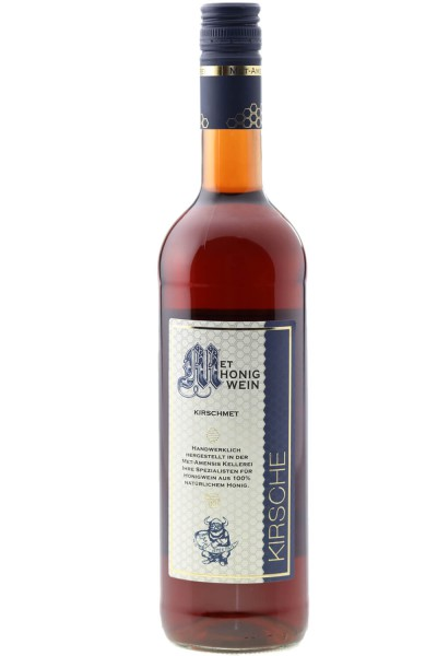 Kirschmet Mead with cherry juice and ginger - 0.7 l - 10%