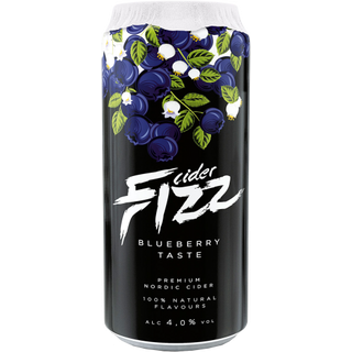 Fizz Blueberry (Blaubeer) Cider - 4,5% - 500ml Dose