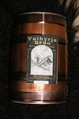VALKYRJA-BRÄU (Honigbier), 5 Liter, 7,2 % in Partydose