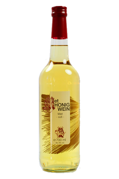 Met süß - süßer Honigwein 0,7l Fl. - 9 %