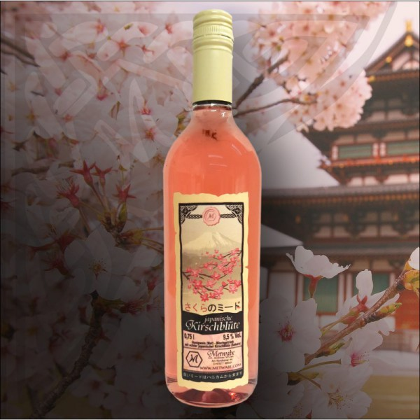 "Met ""Japanische Kirschblüte"" - 0,75l - 9,5%vol - Honigwein"