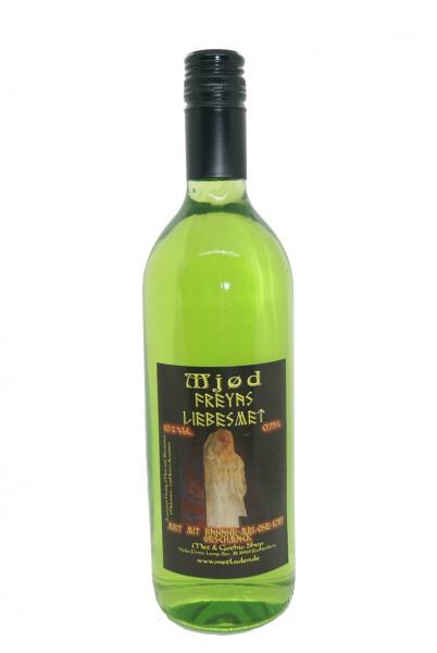 Mjød Freyas Liebesmet-Met mit Banane-Melonen-Kiwi-Geschmack 0,75 l