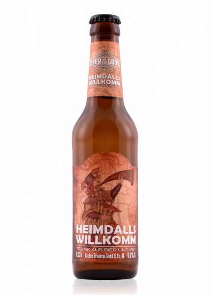 Heimdalls Willkomm - Bier-Met-Mischgetränk - 0,33l Flasche