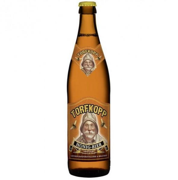 Torfkopp Honig-Trunk - Honig-Bier - 0,5 l - 4,9 %