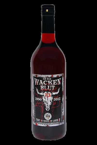 Wacken - Blut (Met mit Kirschsaft), 0,75 Liter, 6 %