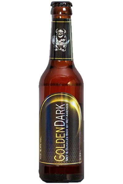 GoldenDark Honigbier - Metbier - 0,33l - 6,4%