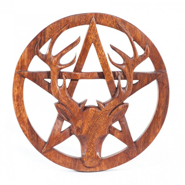 Wandbild - CERNUNNOS - Pentagramm - ws226