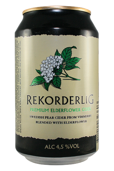 Rekorderlig Cider 4,5% Holunderblüte 0,33l