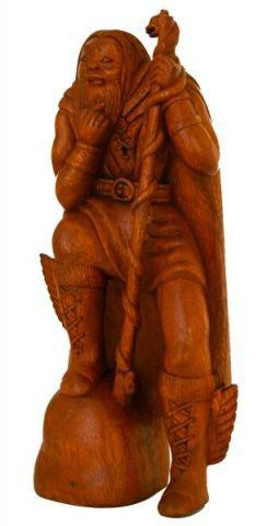 Holzfigur LOKI 30 cm - hk63
