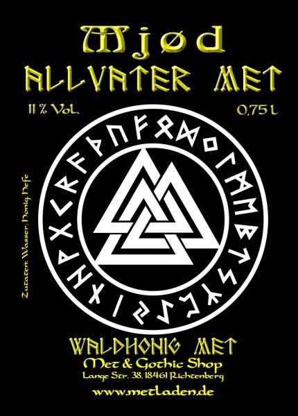 Allvater Met - Waldhonig Met - 11 % - 0,75 Liter