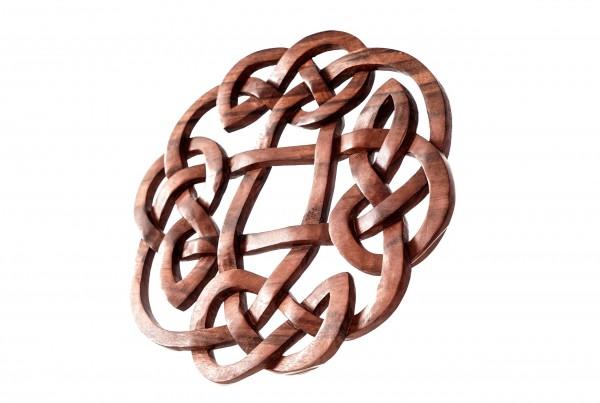 Wandbild - Keltischer Knoten -  Ø 25 cm - ws290